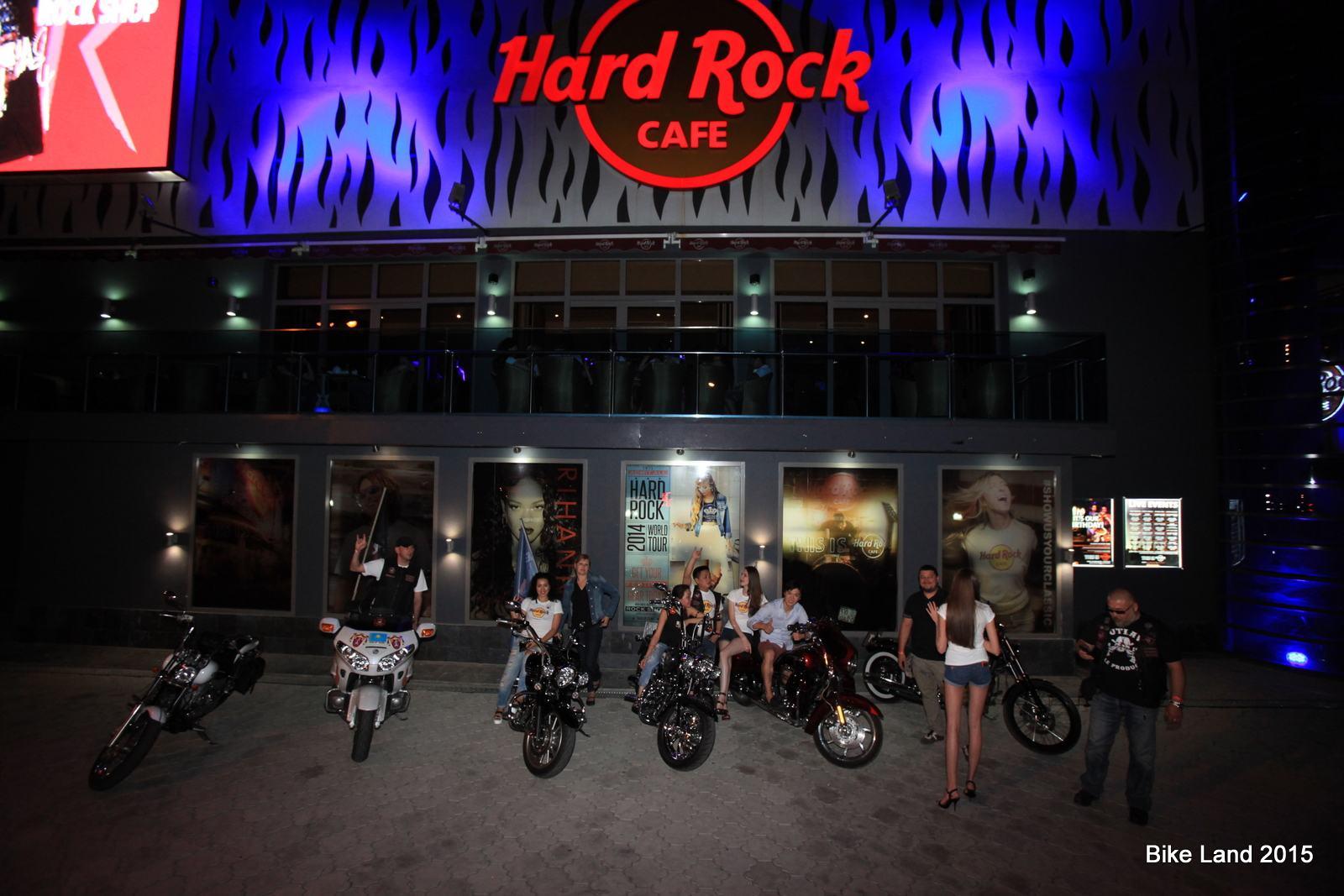 Ураганный коктейль в хард-рок кафе